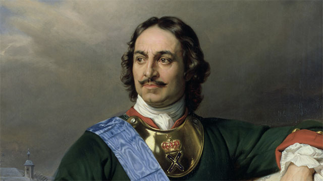 Peter the Great of Russia declared a tax on beards that was to be collected at every town gate