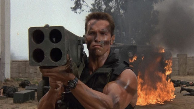 Remember Sully when I promised to kill you last? I lied. - Commando