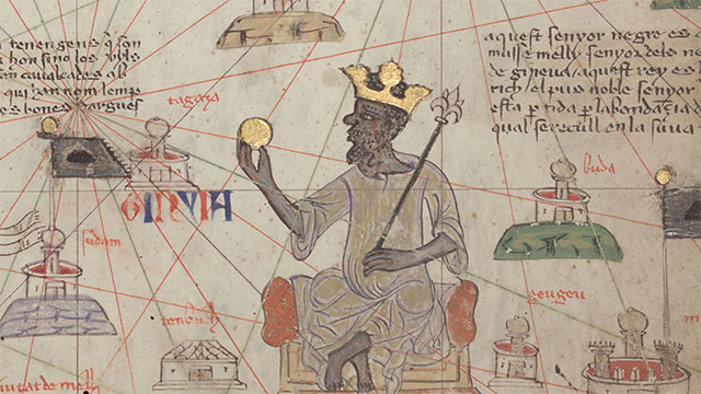 Mansa Musa, ruler of the Mali Empire, once spent so much gold in Egypt that he devalued it and nearly destroyed the economy
