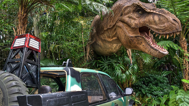 Electric fences that are capable of maiming a T-Rex will leave a small child relatively unscathed