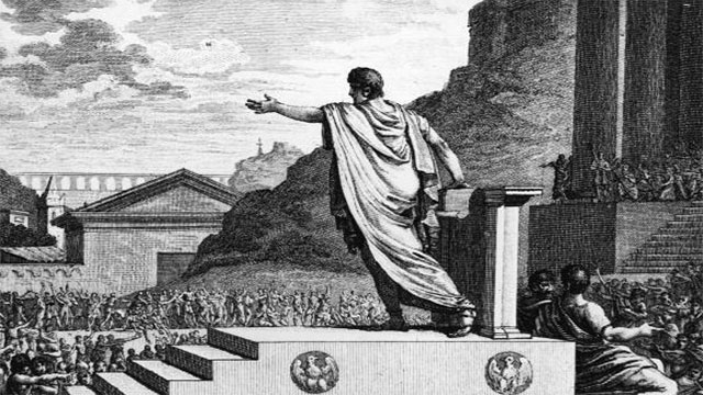 The Roman politician, Gaius gracchus, had a bounty put on his head for its weight in gold. The head was delivered but the bounty wasn't paid because the captor had filled his head with lead.