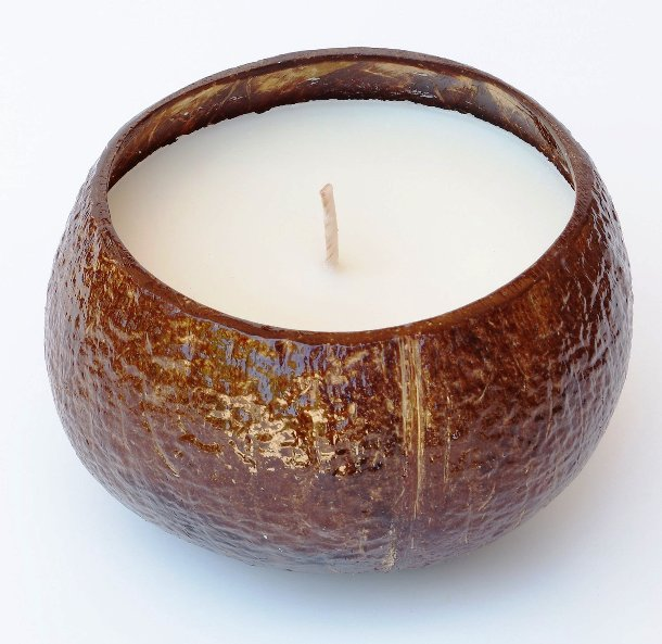 Scented soya candle