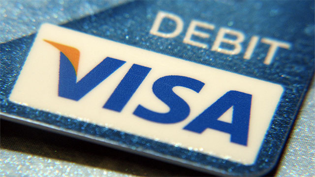 VISA stands for Visa International Service Association. This is known as a recursive acronym because it refers to itself.