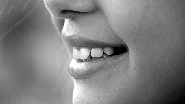 In the past, people had perfect teeth