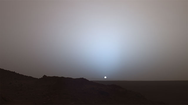 One year on Mars consists of 687 Earth days