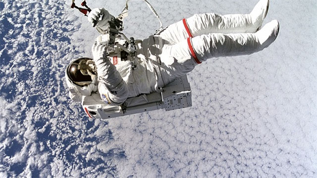 In space it is hard to know when you need to pee because the lack of gravity causes the pee to just float around in your bladder