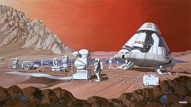 More than 100,000 people have applied for a one-way trip to colonize the red planet in 2022 (Mars One)