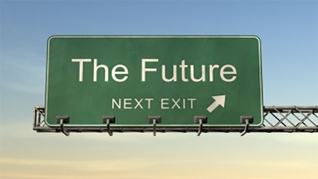 Look at the future positively