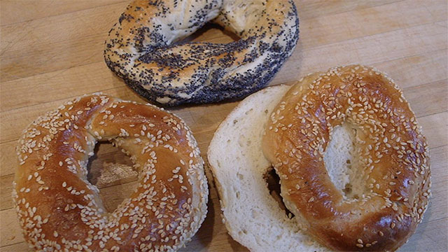 New York City levies a tax against prepared food. This means that sliced bagels are first taxed as food and then as prepared food. It's a double tax.
