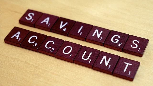Before you even pay the bills, take 10% of your income and put it in savings