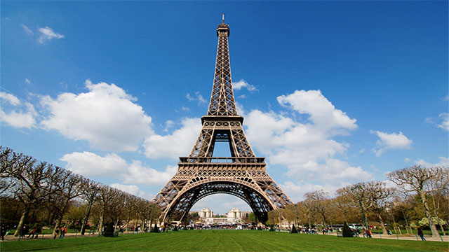 You can see the Eiffel Tower from every single window in Paris