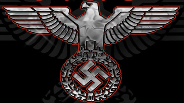If you ever need to get into a Nazi stronghold all you need to do is knock out the guard. His uniform will fit and after that you just need to speak English with a German accent