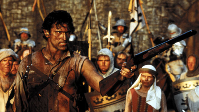 Good? Bad? I'm the guy with the gun. - Army of Darkness