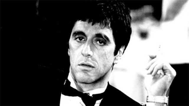 Say hello to my little friend. - Scarface