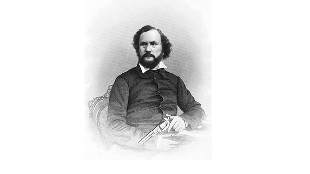 The revolver was first created by Samuel Colt when he was 16 years old