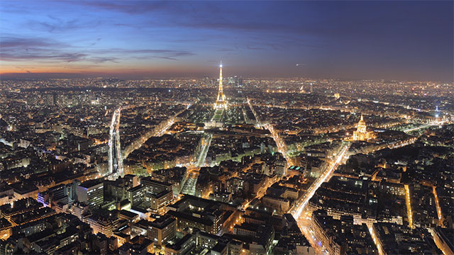 """The official city motto of Paris is """"fluctuat nec mergitur"""". This Latin phrase translates to """"tossed but not sunk""""."""