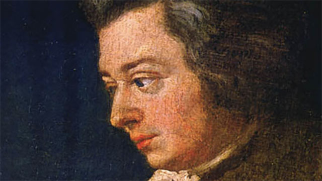 Mozart's kids used to taunt him by playing incomplete scales on the piano. Mozart would then rush downstairs to complete them.