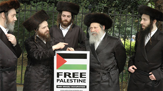 There is a Jewish sect known as Neturei Karta that supports Palestine and calls for the state of Israel to be peacefully dismantled