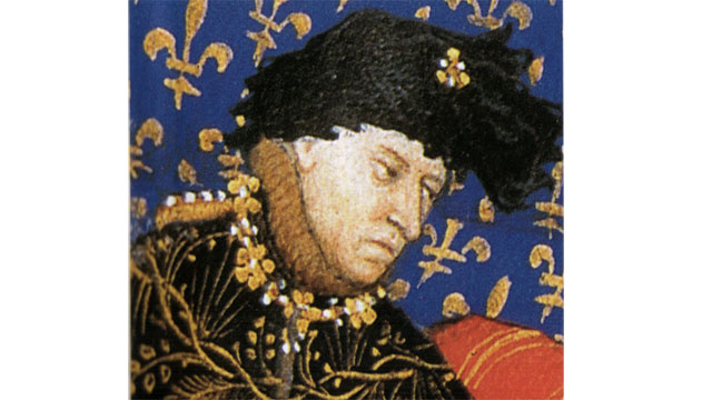 King Charles VI of France thought he was made of glass (probably because of stress)