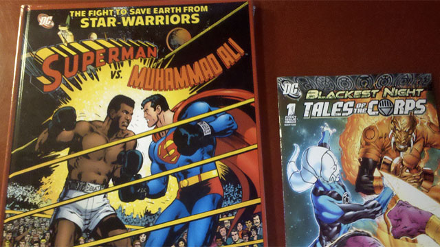 In a 1978 comic, Superman teams up with Muhammad Ali to beat up a bunch of aliens