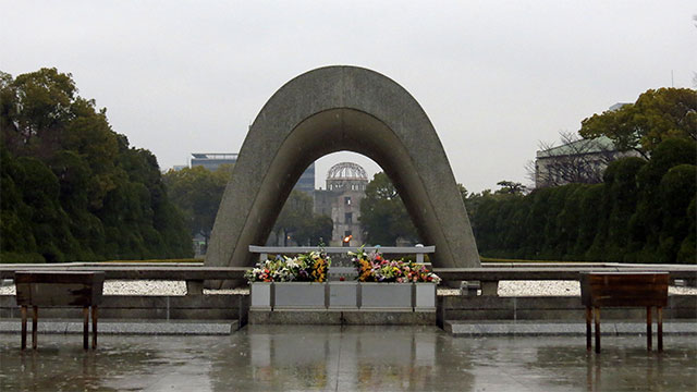 The Flame of Peace in Hiroshima has been burning since 1964 and will only be put out when there are no more nuclear weapons in the world