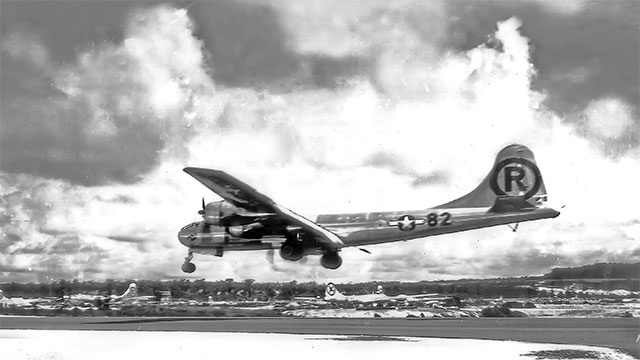 Only three out of the twelve people on the Enola Gay (the bomber) knew what their actual mission was