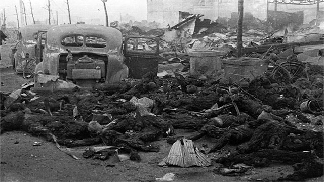 Neither Hiroshima nor Nagasaki were the most destructive bombing attacks of World War II. That title belongs to Operation Meetinghouse, which was the allied firebombing of Tokyo. In fact, it has been labeled the most destructive bombing raid in history.