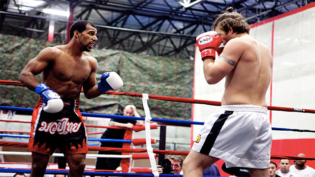 """In Muay Thai, fighters use something called the """"superman punch"""". This involves faking a kick so that the subsequent punch is more powerful"""