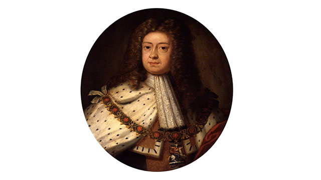 King George I of England didn't speak English because he was born in Germany. Since catholics were not allowed to succeed a monarch in England, he became King since he was the closest living relative of the Queen