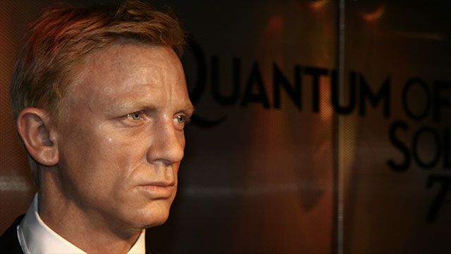 Because he starred as James Bond, Daniel Craig has been given a free Aston Martin for life