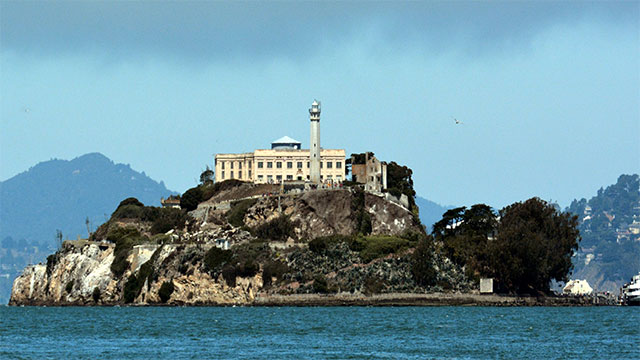 Although Alcatraz was one of the few US prisons with hot water showers, the only reason was to discourage inmates from trying to escape (the reasoning was that inmates used to hot showers would hate the cold water bay)