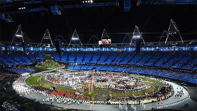 The Olympics in 2012 saw the biggest military presence in London since the end of World War II