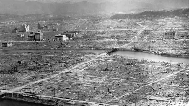 The person closest to the blast in Hiroshima that was confirmed to have survived was less than 200 meters from ground zero in a basement