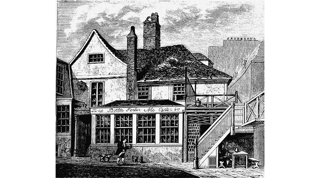In 1814, after a vat ruptured, a wave of beer flooded the city killing 8 people. It is known as the London Beer Flood.