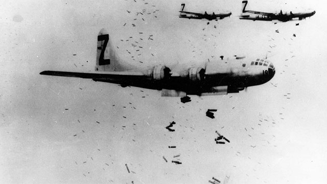 Before dropping the bombs, the US Air Force showered the cities of Hiroshima, Nagasaki, and 33 other potential targets with millions of pamphlets warning people of the impending bombings
