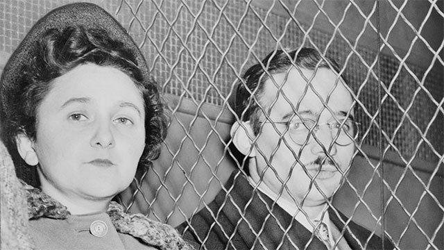 Julius and Ethel Rosenberg are the only civilians in the history of the United States to be executed for espionage