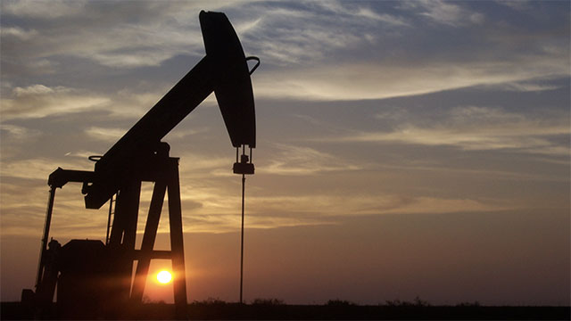 Drilling oil involves cutting a whole into the Earth and pumping air into it. Once the oil is hit it rushes to the surface and shoots into the sky