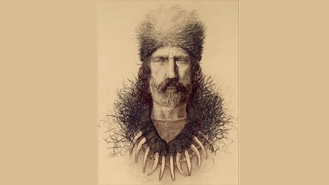 While exploring South Dakota, Hugh Glass was left for dead by his group after being mauled by a grizzly bear. He then crawled 200 miles to the nearest settlement.