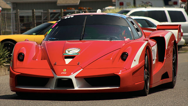 The Ferrari FXX costs 2 million Euros but you don't even get to keep the car. Ferrari will bring it to a special track for you to use and when you are done they will pack it up until the next time you want to use it.