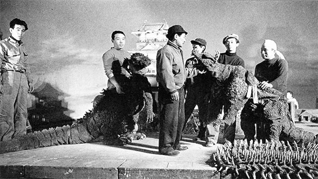 Godzilla was created by Japan in response to the bombings. The monster itself was said to have spawned from the radioactive rubble.