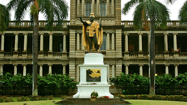 "After King Kamehameha of Hawaii was smacked on the head by the paddle of a frightened fisherman during a battle he did more than just spare the fisherman's life. He passed something called the ""law of the splintered oar"". This law still stands today in Hawaii and protects civilians in times of war"