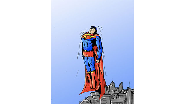 In the original story Superman could only jump really high (because of the higher gravity on Krypton). When he was being made into a movie, the team at Max Fleischer Studios asked for his powers to be adjusted because a flying animation would be much easier