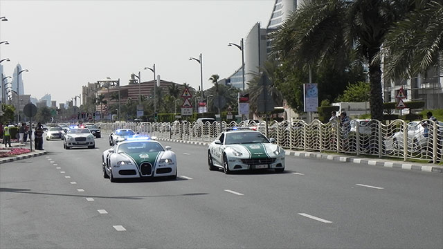 The police department in Dubai is stocked with Lamborghinis, Ferraris, and Bentleys so that they can catch speeders