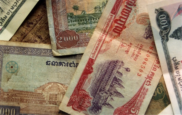 Cambodian_Riel notes