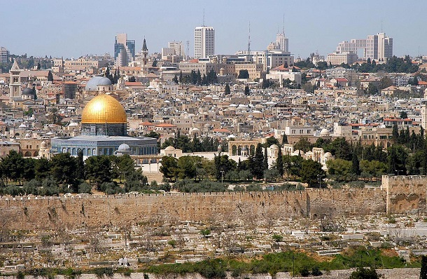 Old City from the Mount of the Olives