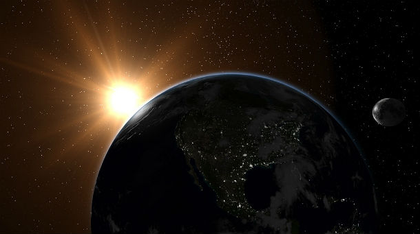 Earth's ideal distance from the sun