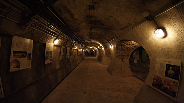 les UX (The Urban Experiment) is a secret group in Paris that goes around restoring ancient crypts and monuments. The police even have a unit dedicated to tracking them through the sewers