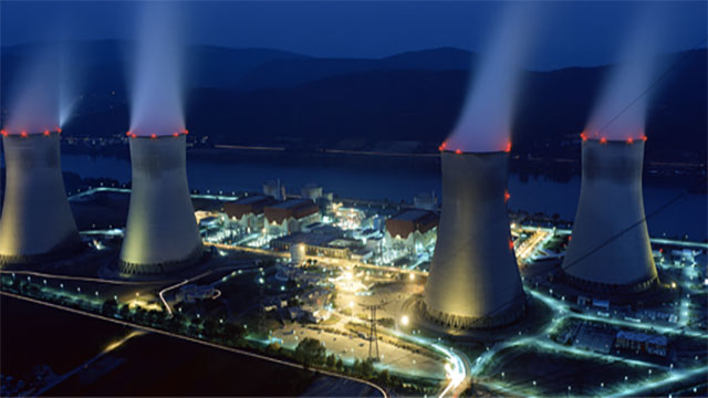 France generates so much nuclear power that it actually exports it
