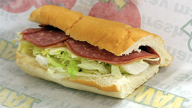"""The popular BMT sandwich in Subway is name after """"Brooklyn Manhattan Transit""""...which is actually a subway!"""
