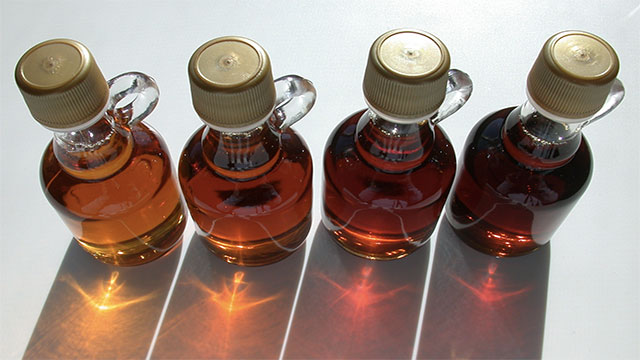 4 tablespoons of maple syrup contain more calcium than the same amount of milk and more potassium than a whole banana